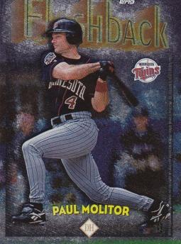 1998 Topps Flashback Molitor