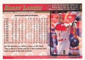 1998 Topps Larkin back