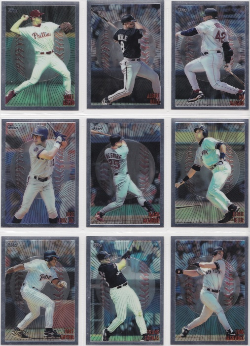 1998 Topps Mystery Finest Bordered complete 2