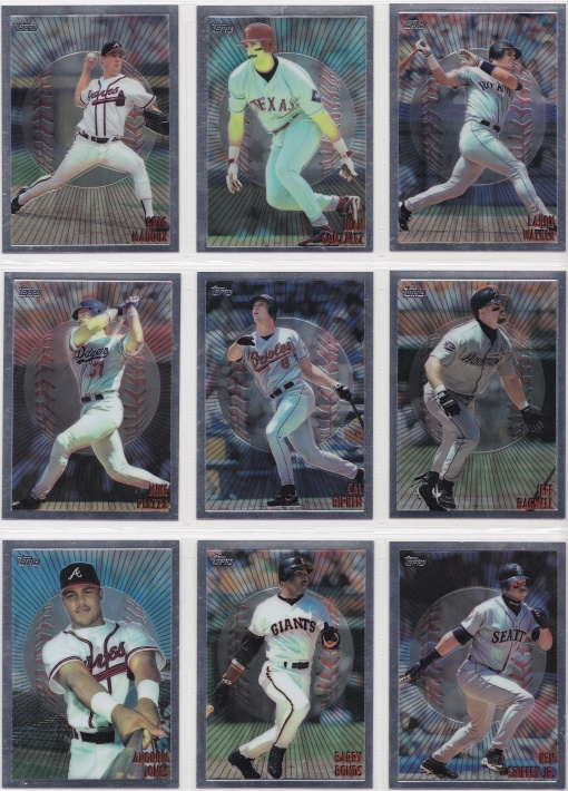 1998 Topps Mystery Finest Bordered complete 3