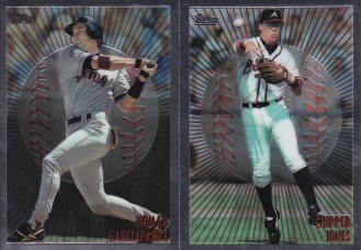 1998 Topps Mystery Finest Bordered complete