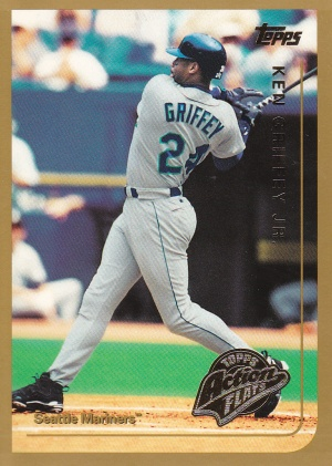 1999 Topps Action Flats Griffey