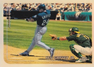 1999 Topps Chrome Refractor Griffey