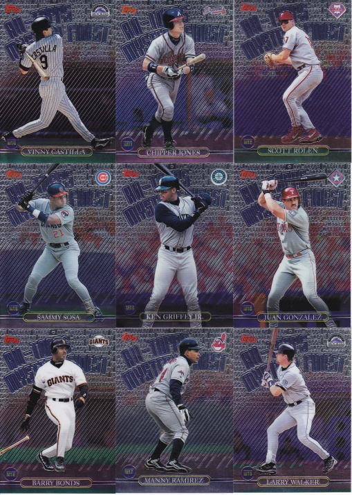 1999 Topps Mystery Finest complete 2