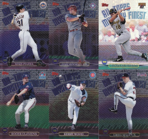 1999 Topps Mystery Finest complete 4