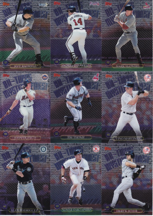 1999 Topps Mystery Finest complete
