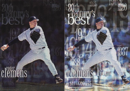 2000 Topps 20th Clemens