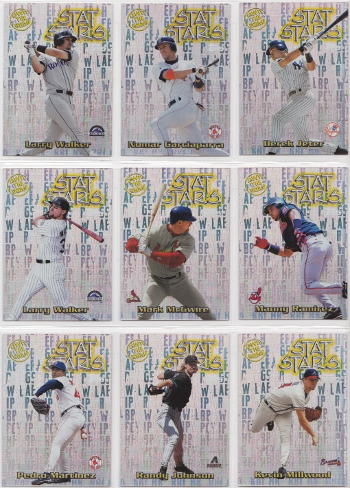 2000 Topps Own the Game complete 2