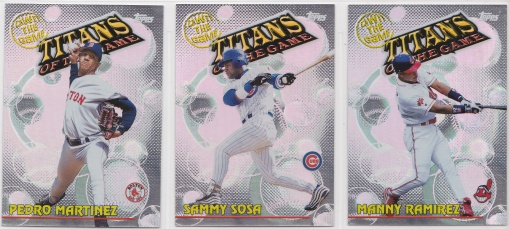 2000 Topps Own the Game complete 4