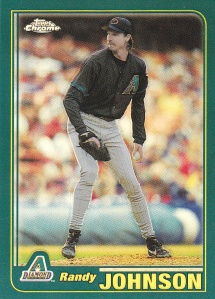2001 Topps Chrome Retrofractor Randy Johnson