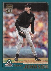 2001 Topps Employee Randy Johnson