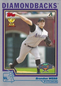 2004 Topps Opening Day Webb