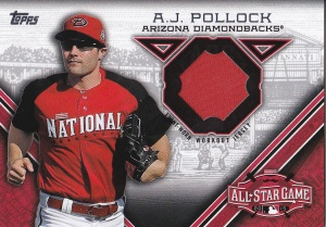 2015 Topps Update All-Star Stitch AJ Pollock