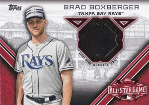 2015 Topps Update All-Star Stitch Brad Boxberger