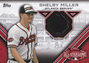 2015 Topps Update All-Star Stitch Shelby Miller