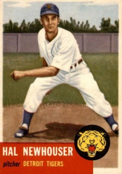 1953 Topps Hal Newhouser