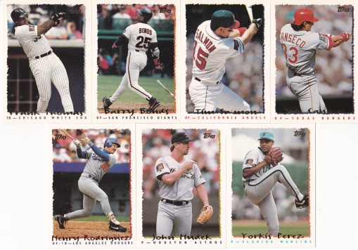 1995 Topps 1st and 00s