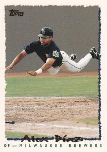 1995 Topps Alex Diaz