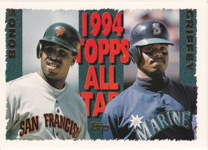 1995 Topps Griffey Bonds AS