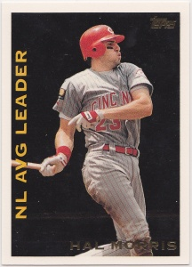 1995 Topps League Leaders Hal Morris