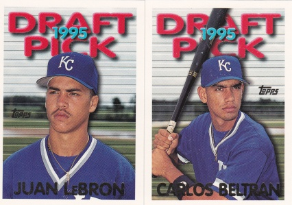 1995 Topps Traded Beltran LeBron