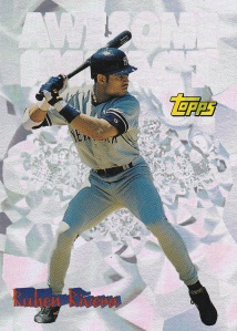1997 Topps Awesome Impact Ruben Rivera