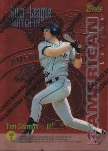 1997 Topps Interleague Finest Salmon