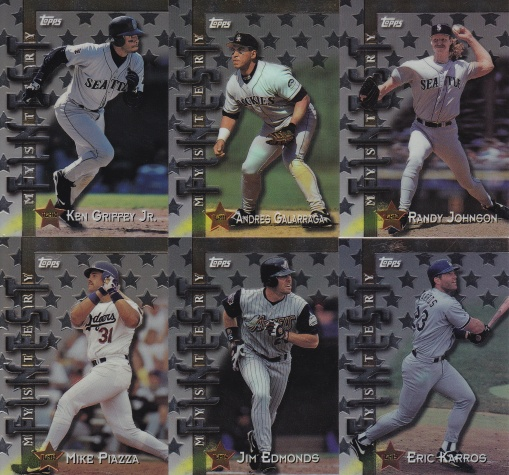 1998 Topps Interleague Mystery set 2