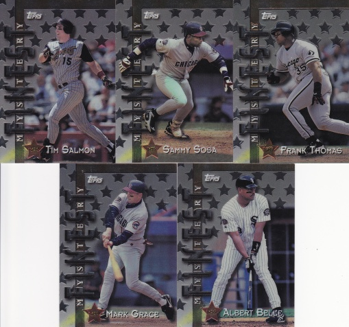 1998 Topps Interleague Mystery set 3