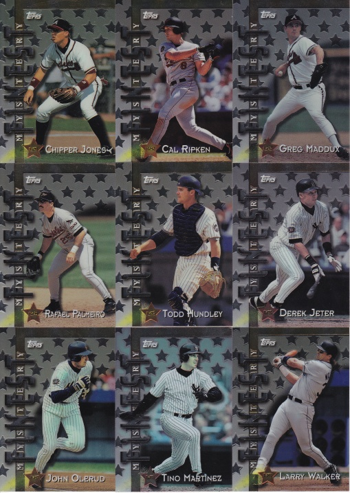 1998 Topps Interleague Mystery set