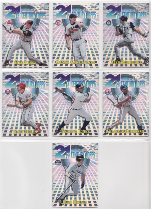 2000 21st Century Topps complete 2