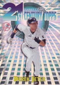 2000 21st Century Topps Derek Jeter