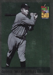 2001 Topps What Could Have Been Mule Suttles