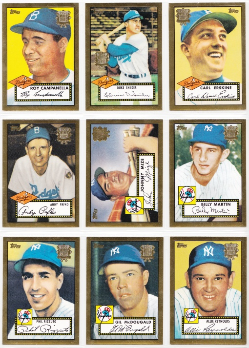 2002 Topps 52 Reprints complete