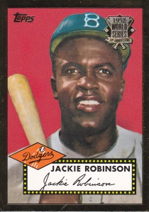 2002 Topps 52 Reprints Jackie Robinson