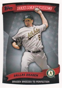 2010 Topps Peak Performance - front