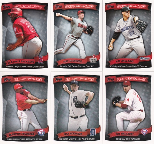 2010 Topps Peak Performance dupes