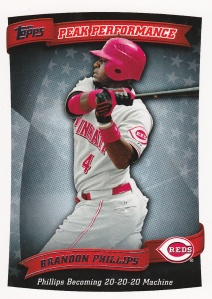 2010 Topps Peak Performance Phillips
