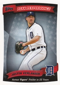2010 Topps Peak Performance Verlander