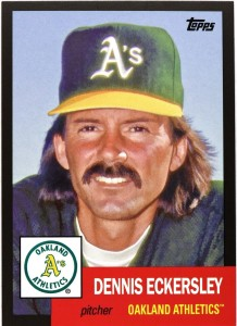 2016 Topps Archives Black Eckersley