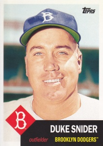 2016 Topps Archives Duke Snider 53