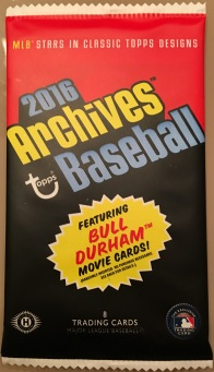 2016 Topps Archives hobby pack