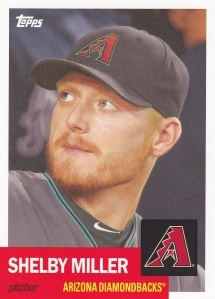 2016 Topps Archives Shelby Miller