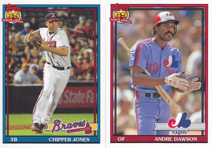 2016 Topps Archives wrong team 91