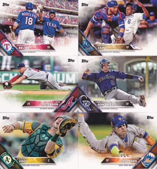 2016 Topps s2 best photos horizontal