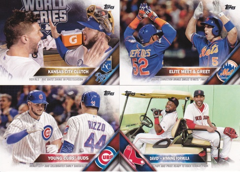 2016 Topps s2 checklists