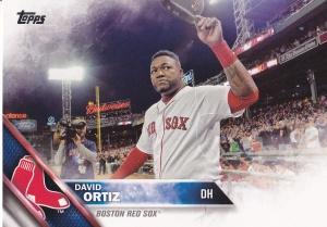 2016 Topps s2 David Ortiz