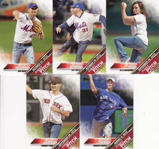 2016 Topps s2 First Pitch