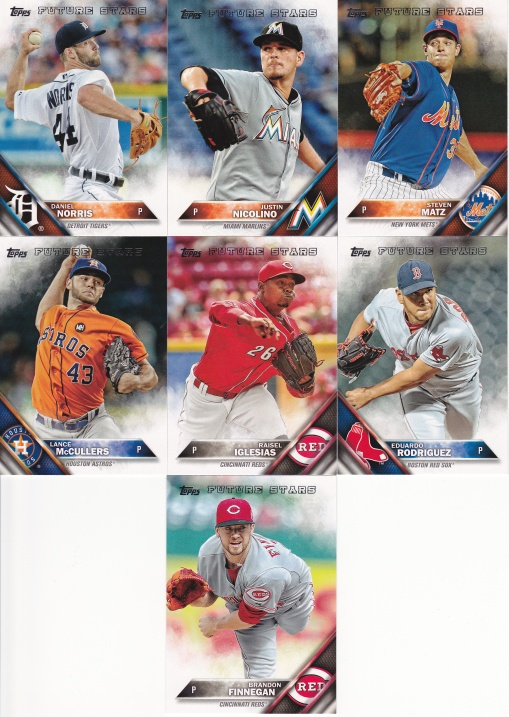 2016 Topps s2 Future Stars Pitchers