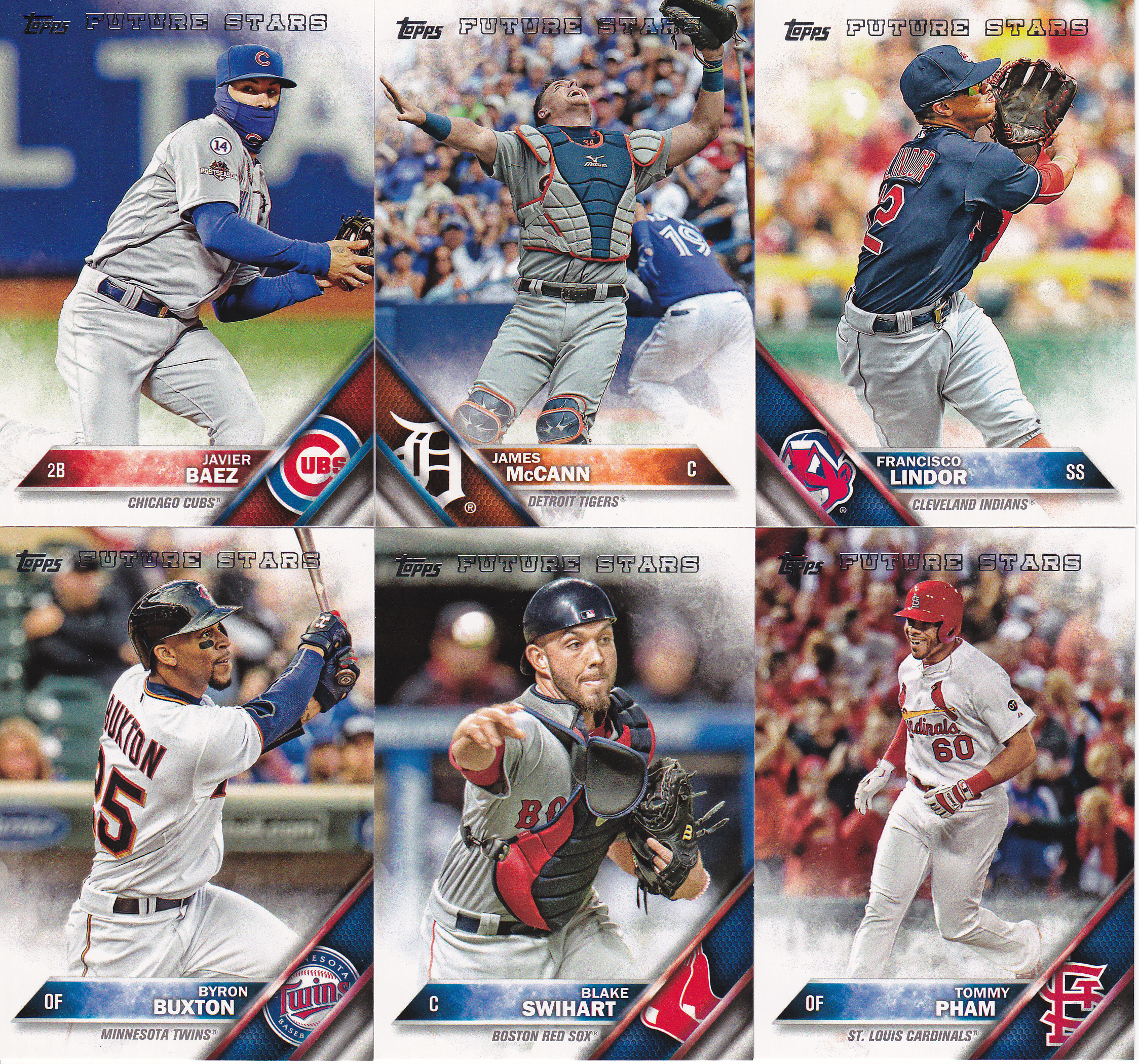 2016 Topps Series 2 All Star Rookies And Future Stars Lifetime